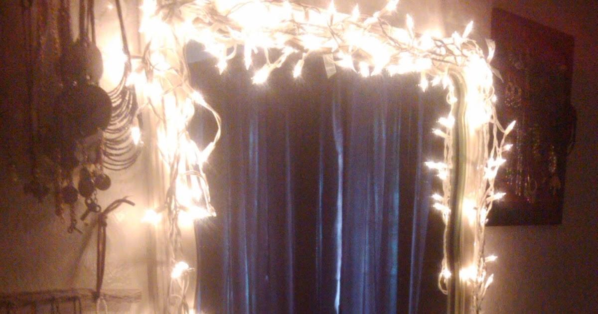 Easy diy light up vanity mirror.