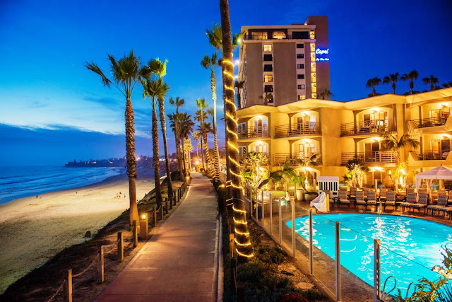Pacific Terrace is a 4-Diamond Pacific Beach hotel in San Diego. Perfect for romantic getaways, family vacations, reunions, wedding guests, meetings, and more.