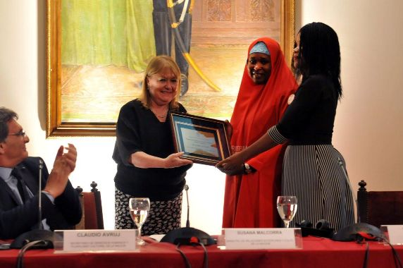 Photo: BBOG wins Emilio Mignone Int'l Prize for Human Rights