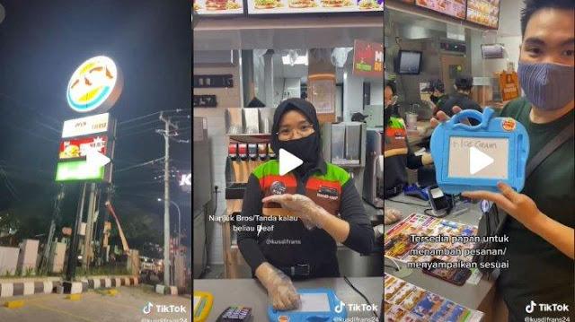 VIRAL Burger King di Makassar Pekerjaan Pegawai Berkebutuhan Khusus, Mayoritas Penyandang Tuli