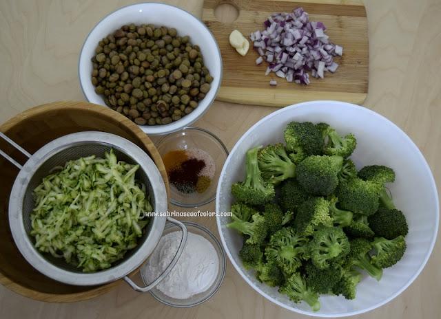 Hamburguesas veganas verdes