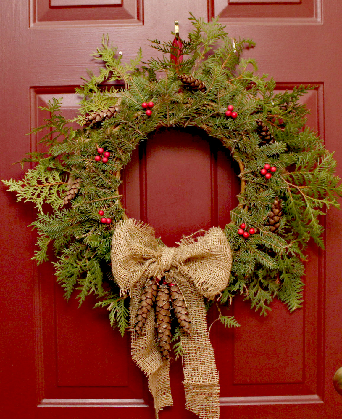 Xmas Wreath: Turtles And Tails: Boughs And Bows (Christmas Wreaths