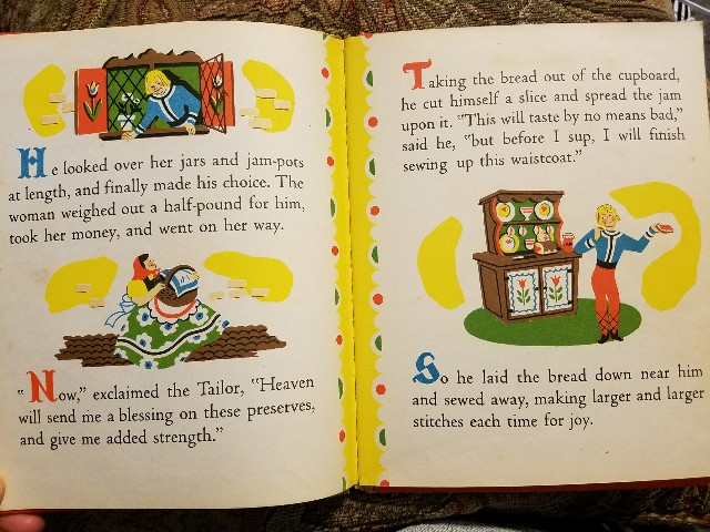 The Valiant Little Tailor (A Bonnie Book), illustrated by Dolli Tingle. John Martin's House, 1946