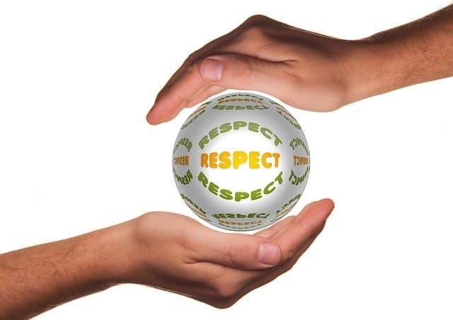 offer of respect