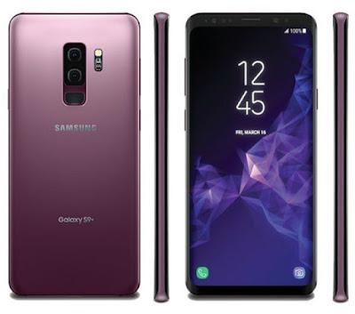 Spesifikasi Samsung Galaxy S9+ plus   Dengan di luncurkannya handphone  terbaru tersebut,tidak dipungkiri cara perusahaan samsung yang sudah menguasai pemasaran smartphone dunia,untuk terus berinovasi dan menguatka posisinya di industri teknologi smartphone.  Samsung s9 ini masih hampir sama dengan generasi sebelumnya seperti: membentangkan panel layar Super AMOLED seluas 6.2 inchi, dengan resolusi Quad HD ( 1440p ),juga dengan jenis kamera 12 MP ,disertai Dual Pixel Autofocus, OIS, LED flash, untuk berfotografie.  Meskipun begitu ,samsung galaxy s9 juga dilengkapi dengan amunisi terbarunya  yaitu : berjalan memakai OS Android v7.0 Nougat, lalu dilengkapi fitur keamanan menggunakan retina mata ( Iris Scanner ), dan juga fitur baru sertifikasi IP68 WaterProf ( tahan air ).   Kelebihan   Desain terbuat dari material Full metal + Glass. Didukung teknologi 2.5 D Curved pada kedua sisi layar. Telah mendukung konektifitas 4G LTE. Dibekali dual SIM standby. Membawa layar seluas 6,2 inchi bereknologi Super AMOLED. Memiliki resolusi layar 1440 x 2960 pixels. Telah dilapisi proteksi Gorilla Glass 5 sebagai pelindung layar. Disemati fitur IP68 Certified yang bisa bertahan didalam air. Didukung sensor Fingerprint Scanner untuk keamanan data. Menjalankan OS Android v 8.0 Oreo sebagai software. Disenjatai prosesor Exynos 9810 Octa core, clocking 2.9 GHz sebagai daya pacu kinerja. Memiliki kapasitas RAM 4/6 G