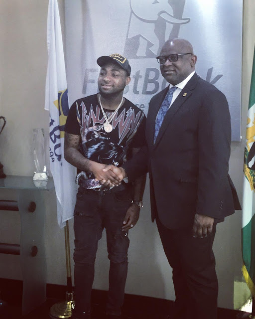 Davido nabs Endorsement Deal with First Bank of Nigeria