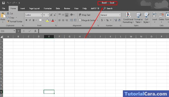 Cara Menyalin Lembar Kerja Excel