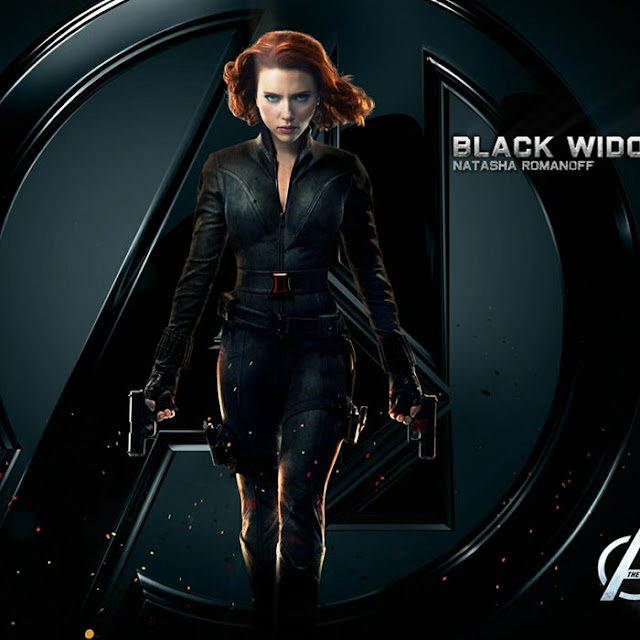 Black Widow Wallpaper Engine