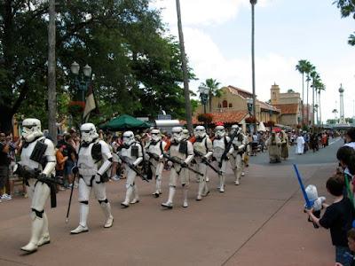 Star Wars Parade at Hollywood Studios in Orlando Florida