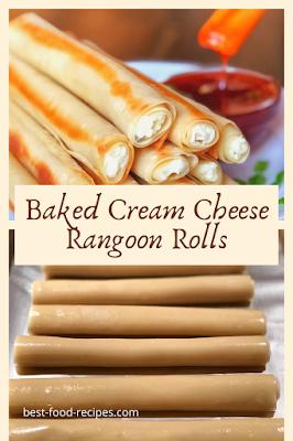 Baked Cream Cheese Rangoon Rolls Recipe
