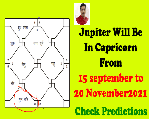 when jupiter will transit in capricorn in september 2021, jupiter transit predictions by best astrologer