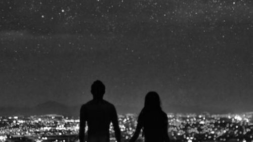 couples in city lights