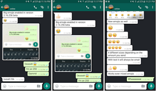 whatsapp latest beta features