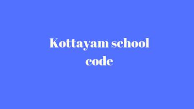 Kottayam School Code