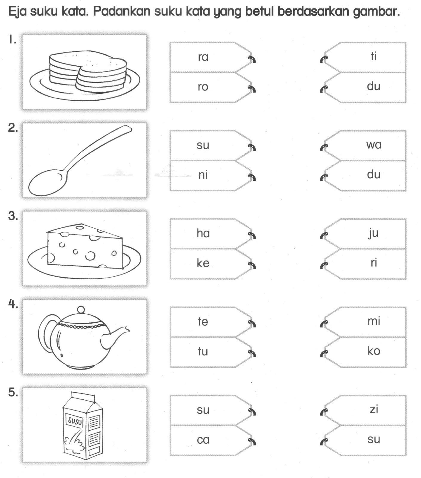 Suku Kata Worksheet Printable Worksheets And Activities For Teachers Parents Tutors And Homeschool Families
