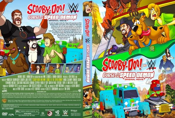 Scooby-Doo! and WWE: Curse of the Speed Demon – Latino Inglés – DVD9
