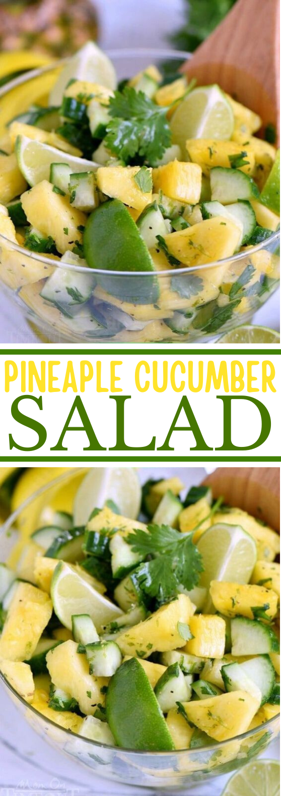Pineapple Cucumber Salad #vegan #salad #lunch #glutenfree #plantbased
