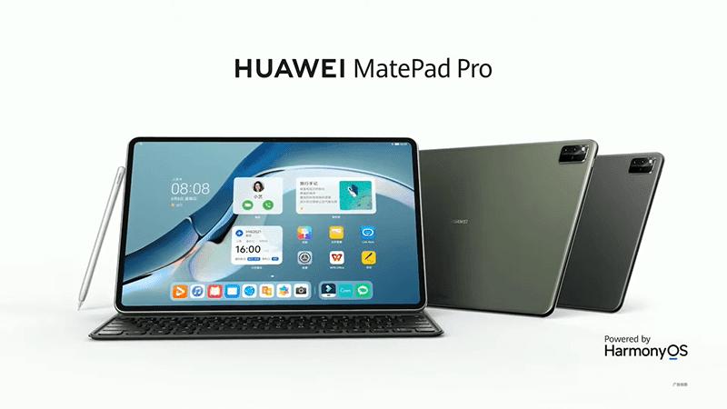 Huawei revealed three new MatePads running HarmonyOS 2, and the M-Pencil 2!