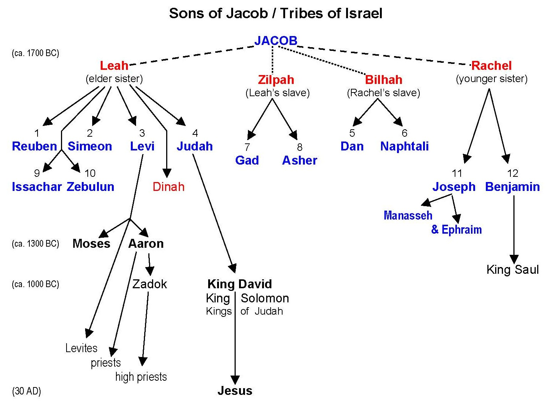 Joseph tribe symbol of The Interesting