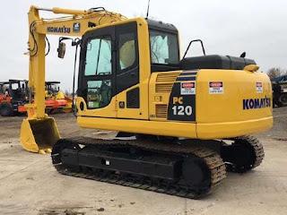 Excavator Komatsu PC 120