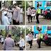 MEDAN: Kapolsek Medan Helvetia Berikan Bantuan Sembako Kepada Pondok Pesantren An Nur