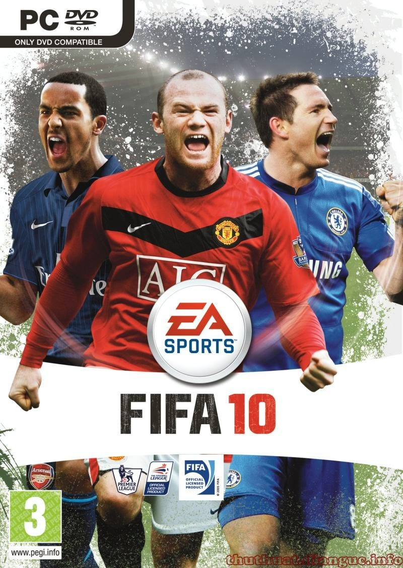 Download FIFA 2010 patch update mùa giải 2015 - 2016 mới nhất