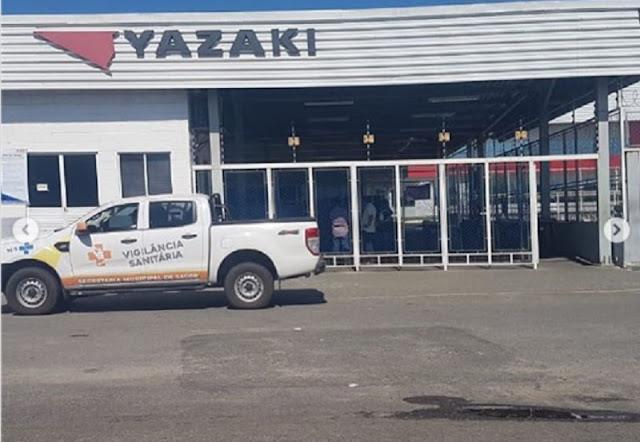 COVID-19: Durante fiscalização da Visam e Guarda Municipal Yazaki informa férias coletivas a partir de 1 de abril