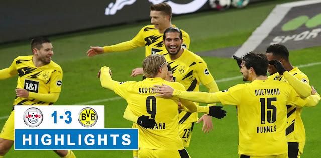 RB Leipzig vs Borussia Dortmund – Highlights