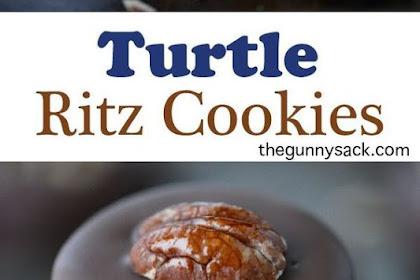 Turtle Cookies - Caramel Filled Ritz
