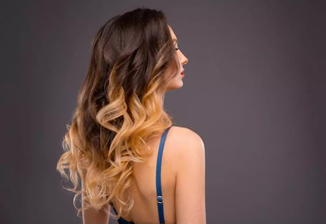 Long ombre hairstyles
