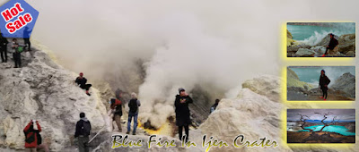Mount Bromo Trekking Ijen Tour Package 3 Days 2 Night