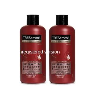 Pack Of 2 - Tresemme Keratin Smooth Shampoo 500 ml Each