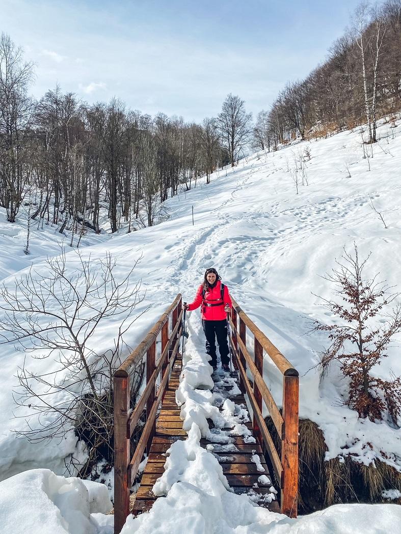 Trekking sentiero natura piani d'erna