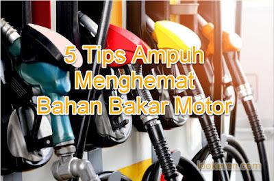 5 Tips Ampuh Menghemat Bahan Bakar Motor Matic