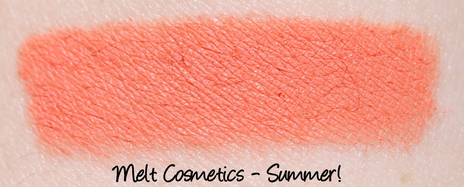 Melt Cosmetics - Summer! Lipstick Swatches & Review