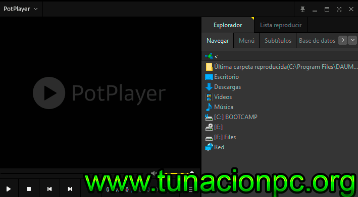 Descargar PotPlayer Portable Final