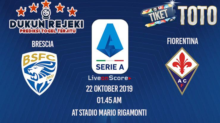 Prediksi  Brescia vs Fiorentina 22 Oktober 2019 Serie A