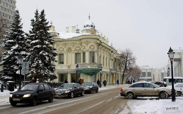Дом Ушковой.