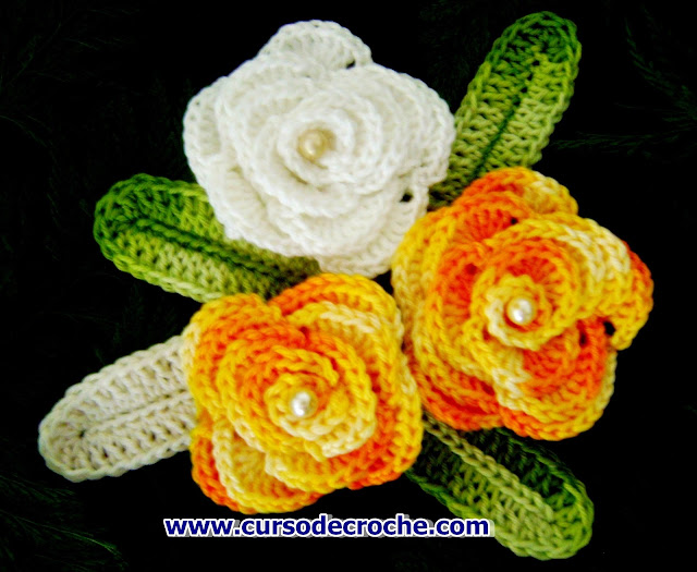 flores crohe enroladas aprender croche edinir croche videos curso de croche gratis dvd loja