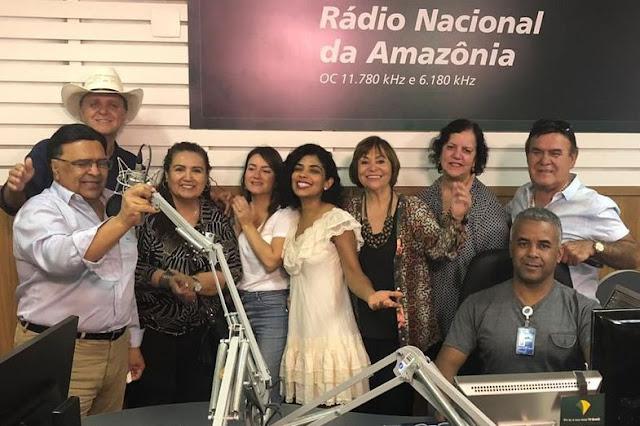 Homenagem aos 43 anos da Rádio Nacional da Amazônia