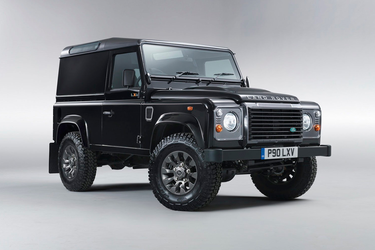 New Auto: Land Rover Defender LXV Special Edition ‹ DJ Don Juan