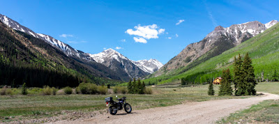 Finally, rode up to the top of Engineer Pass!