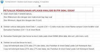 Download Aplikasi Excel Untuk Analisis Ulangan Siswa