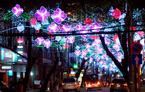 Chinese New Year Celebration in Vietnam