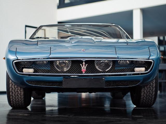 Maserati Ghibli 1960s Italian classic supercar