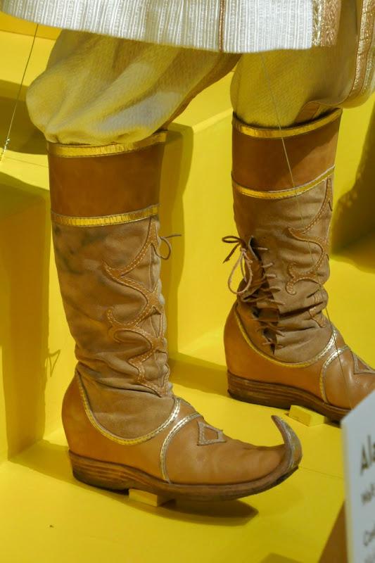 Prince Ali costume boots Aladdin