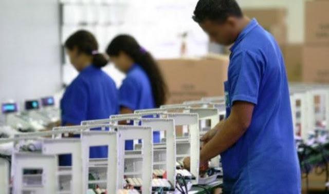 auxiliar de produção primeiro emprego