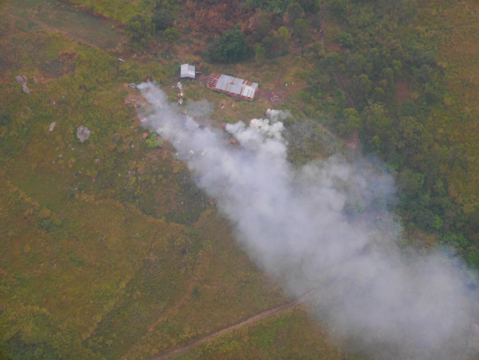 Українські гелікоптери Ми-24 нанесли повітряний удар по таборам повстанців у Конго