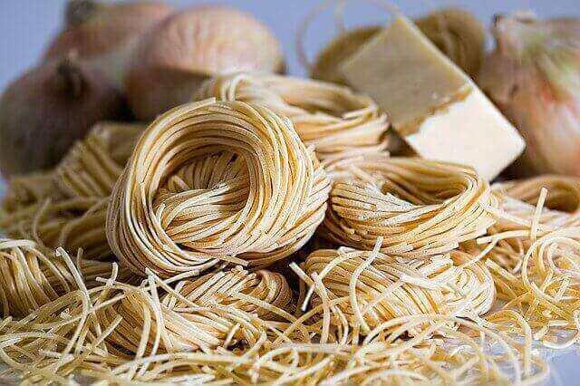 فوائد معكرونة القمح الكامل لكمال الاجسام