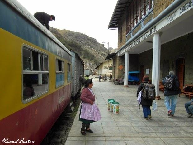 Huancavelica, stazione